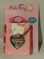New Hello Kitty Purse Activity Set Kit - New, Sealed