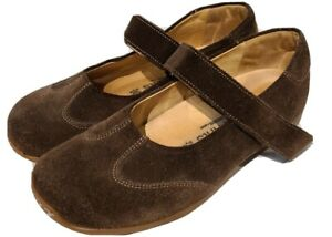 Birkenstock Footprints Womens Pittsburgh Mary Jane Shoe Sz 38 US 7.5 Brown Seude