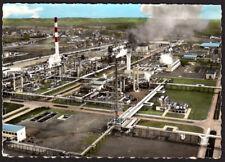 CARTE POSTALE USINE DE LACQ (64) EXPLOITATION GISEMENT GAZ NATUREL CARTE VIERGE