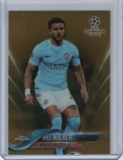 2017-18 Topps Chrome UEFA Champions League Gold Refractor #3 Kyle Walker 23/50