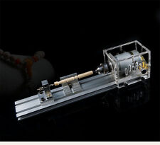 Mini Lathe Machine Polisher DIY Wood Lathe Table Saw for polishing Cutting