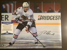 Patrick Kane Signed Chicago Blackhawks 11x14 Photo Beckett BAS Autographed Auto