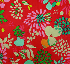"""Floral Printed Cotton 45"""" Wide Sewing Fabric Dressmaking Quilting By 1 Metre"""