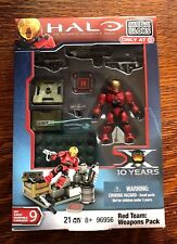 HALO MEGA BLOKS ONLY AT TARGET RED TEAM WEAPONS PACK 2011