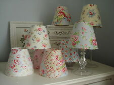 **FLORAL CANDLE LAMPSHADES**CATH KIDSTON AND OTHERS**  FRENCH COUNTRY STYLE CHIC