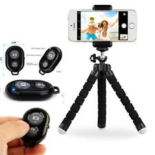 PrimeCables® Tripod Stand Holder Flexible + Bluetooth Wireless Remote Shutter