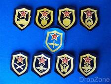 Set of 9 Russian Military Army Air Force Badges / Patches