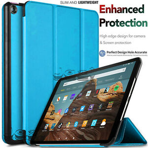 """Smart Case Cover For Amazon Kindle Fire HD 10"""" 8"""" 7"""" 2019/18/17 Magnetic Stand"""