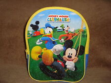 """Disney Mickey Mouse Clubhouse Backpack  Toddler Size 10"""" tall"""