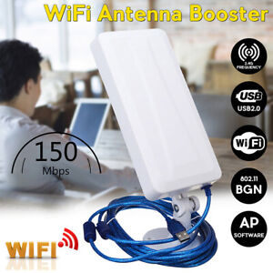 2500M WiFi Range Extender Repeater Signal Booster Wireless Amplifier Router US