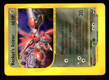 PROMO POKEMON BEST N° 4 ROCKET's SCIZOR (Mint Condition) Very RARE CARD