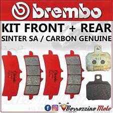 PASTIGLIE FRENO BREMBO SA ANTERIORI+ POSTERIORI KTM SUPER DUKE R ABS 1290 2015