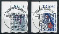 Bund 2322 - 2323 Eckrand gestempelt Vollstempel ESST Berlin Ecke 1 SWK used