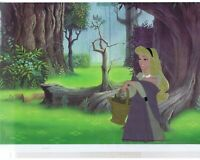 Sleeping Beauty Disney Vintage Original Production Cel of Briar Rose 1959