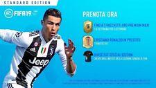 PS4 FIFA 19 - BONUS PREORDER - NO GIOCO ( SOLO CODICE DLC) ULTIMATE TEAM