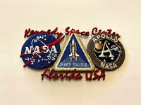 NEW RARE Vintage NASA Kennedy Space Center Apollo Embroidered Iron On Patch