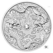 2019 Double Dragon 1oz Silver Coin
