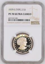 1999 P SBA NGC Certified Pf 70 Philadelphia Label