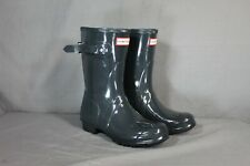 Hunter Womens Original Short Gloss Rain boots Size 7
