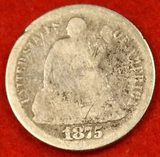 1875-S SEATED DIME G COLLECTOR COIN GIFT CHECK OUT STORE SD20