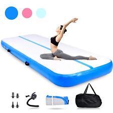 Air Track Mat Airtrack Floor Home Tumbling Inflatable Gymnastics Yoga Mat Gym Us
