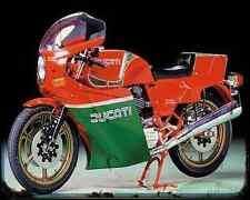 Ducati 900 Mhr 79 3 A4 Metal Sign Motorbike Vintage Aged