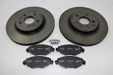 Discos de Freno Originales + Forros Delantero Ford Mondeo Mk3 1681578+ 1783849