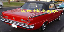 DODGE DART CONVERTIBLE TOP DO IT YOURSELF PKG 1963-1964  with parts