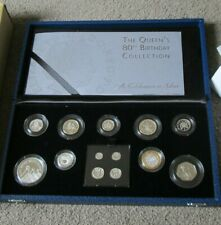 2006 EIIR BIRTHDAY SILVER PROOF COLLECTION INC MAUNDY -COA & Full Packaging