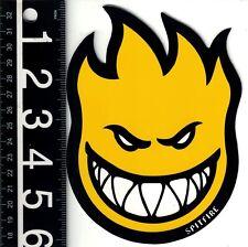 SPITFIRE YELLOW BIGHEAD STICKER Spitfire Classic 6 in x 4.25 in Skateboard Decal