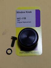 GM BLACK REPLACEMENT WINDOW CRANK KNOB