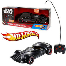 Disney Hot Wheels Star Was Darth Vader RC Remote Control Car Vehicle Toy