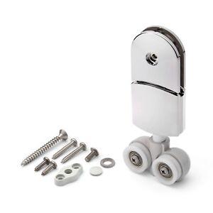 1 X Gancio Tipo Top Rullo Porta Doccia/Roller/Scanalati Ruote / Ricambio J047