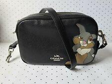 Coach X Disney ☆ SIGNATURE JES CROSSBODY BAG ~ Thumper Black Multi 91115 ☆ NWT