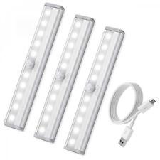[3 Pack] AMIR Lampe Détecteur de Mouvement, Placard, USB Rechargeable...