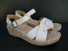 Kork-Ease Women's Myrna Wedge Ankle Strap Sandal, Size 11 M