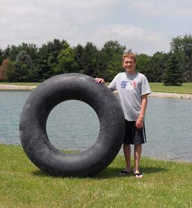 "One New Large 55"" Rubber Swim Tube Lake 13.6-26 TR-218  Valve FREE Shipping"