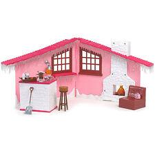 BRAND NEW IN BOX BRATZ PINK WINTER DREAM CABIN & ACCESSORIES 25+ PIECES NIB