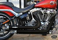 "Harley BSL ""Top Chopp Staggered Spoon""  für Breakout®  Softail Auspuffanlage Tüv"