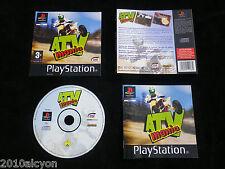 JEU Sony PLAYSTATION PS1 / PS2 : ATV MANIA (courses quads COMPLET envoi suivi)