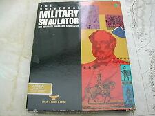 UNIVERSAL MILITARY SIMULATOR - RAINBIRD - AMIGA - WARGAME SIMULATOR - AMIGA 512k