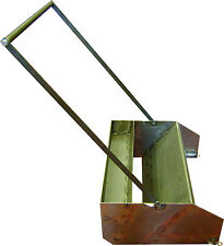 resin bound gravel / concrete sledge