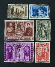 CKStamps: Belgium Stamps Collection Scott#B250-B255 Used