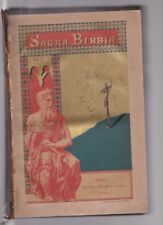 Antonio Martini LA SACRA BIBBIA Napoli Marghieri 1888