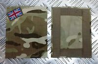 Genuine British Military MTP Blanking Patches Panel Union Jack for UBACS/PCS C03