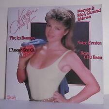"33 tours Karen CHERYL Disque Vinyle LP 12"" PENSE A MOI QUAND MEME - IBACH 60595"