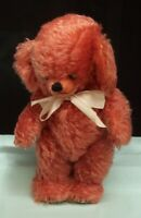 Merrythought Cheeky Coral Blush Teddy Bear England toy 15 inches Ltd Ed  c1998