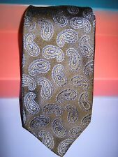 LUCIANO BARBERA TIE MUTED BROWN PAISLEY MADE IN ITALY