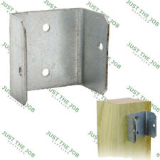 Fence Panel Clip - Galvanised 44mm or 50mm - Bracket Trellis Fixing Garden Post