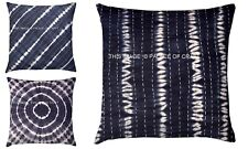 Indian Handmade Kantha Shibori Cushion Cover Hippie Bohemian Pillow Case Throw